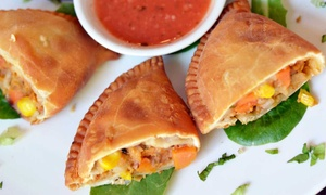 VSPOT Organic in the East Village: Organic Empanadas and Beers for Two or Four at VSPOT Organic in East Village (Up to 44% Off)