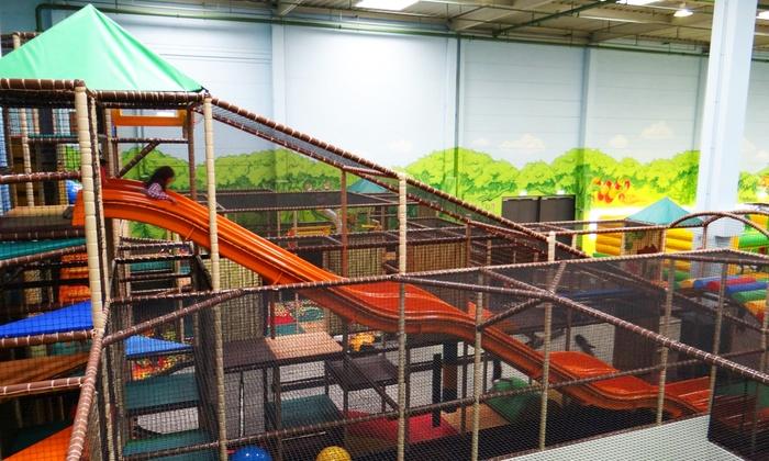 Klettergerüst Erwachsene : Tobidu dein dschungel indoorspielplatz bis zu 25% rabatt