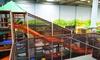 TOBIDU  Dein Dschungel - Indoorspielplatz - TOBIDU  Dein Dschungel - Indoorspielplatz: Eintritt für 1 Erwachsenen mit Kindern oder eine Familie für Tobidu Dein Dschungel-Indoorspielplatz (bis zu 25% sparen*)