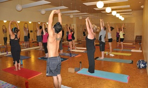 Moksha Yoga Burlington: CC$59 for Two Months of Unlimited Yoga Classes at Moksha Yoga Burlington (CC$320 Value)