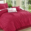 Ruched or Embroidered Comforter Set (7-Piece)