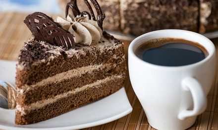 Sandwich or Dessert with Coffee for Two or Four at Three Merry Lads