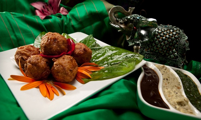 Monsoon Fine Cuisine of India - Gaslamp: $15 for $30 Worth of Indian Cuisine for Dinner at Monsoon Fine Cuisine of India