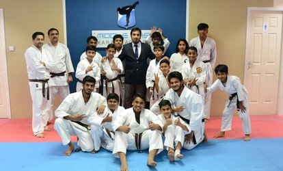 One-Month of Karate Classes For Kids (AED 79) or Adults (AED 99) at Middle East Karate Academy