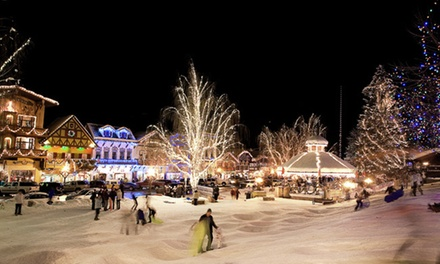 Trip to Leavenworth Christmas Lights Festival for One from Customized Tours (Up to 34% Off). 3 Dates Available.