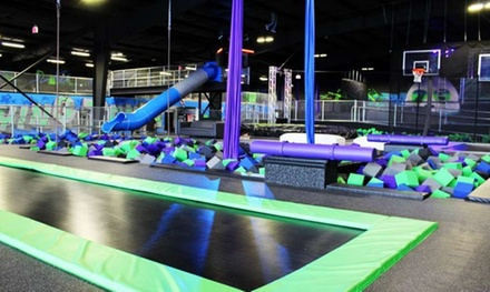 90-Minute Jump Pass for One, Two, Four, or Six People at Flying Panda Extreme Air Sports (Up to 50% Off)