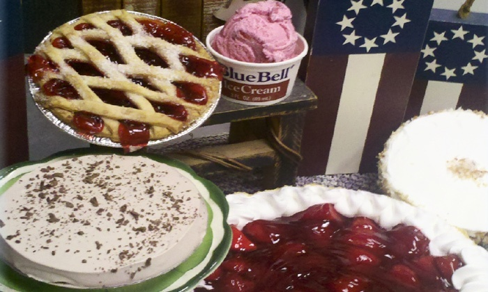 Pie Town Cafe - Shenandoah: Café Cuisine and Desserts or Catering from Pie Town Cafe (Up to 38% Off)