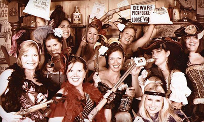 Old Tyme Photos - South Houston: $20 for an Old-Fashioned Photo Shoot with Costumes and Props for Up to Four at Old Tyme Photos ($44 Value)