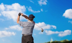 Bay Meadows Golf Club: Two or Four Hours in a Golf Simulator for Up to Four at Bay Meadows Golf Club (Up to 52% Off)