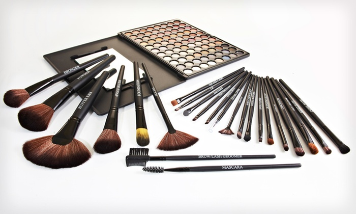 Beauté Basics 24-Piece Makeup Brush Set: $25.99 for a Beauté Basics 24-Piece Makeup Brush Set ($149.95 List Price). Free Shipping and Returns.