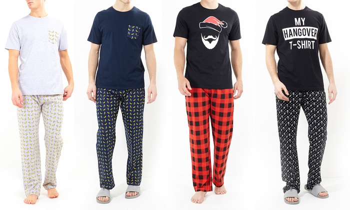 Plaid Personalizzato Groupon.Loungewear Set Fur Herren Groupon