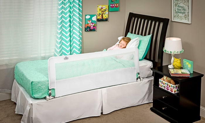 Regalo Hide Away Extra-Long Safety Bed Rail: Regalo Hide Away Extra-Long Safety Bed Rail