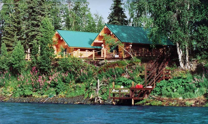 Orca Lodge - Soldotna, AK: 3-, 5-, or 7-Night Cabin Stay for Two at Orca Lodge in Soldotna, AK. Combine Up to 14 Nights.