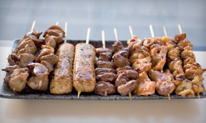 Aaron's Gourmet - Middle Village: Glatt Kosher Barbecue or Turkey Packages from Aaron's Gourmet in Queens (Up to 53% Off). Three Options Available.