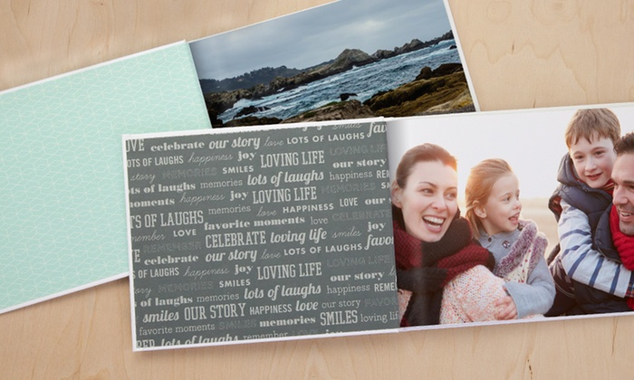 MyPublisher: 20-Page Custom Classic or Deluxe Photo Book from MyPublisher (Up to 79% Off)