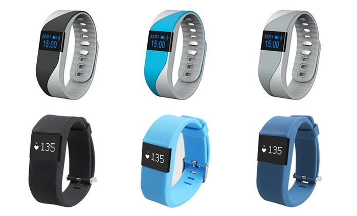 Bluetooth Digital Watch with Heart Rate and Activity Tracker (Shipping Included)