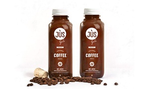 Jus by Julie: Six-Pack, 12-Pack, or 18-Pack of Probiotic Cold Brew Coffee from Jus by Julie (40% Off)