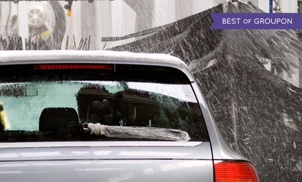 One or Three The Works Car Washes at Premier Car Wash (Up to 52% Off)