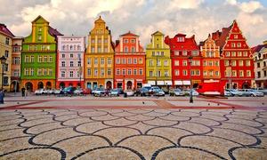 Wrocław: pokój double lub quadruple ze śniadaniem