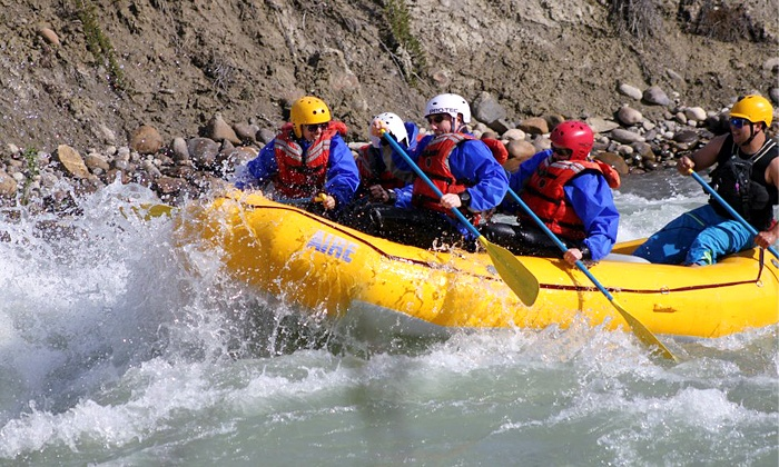Jasper Rafting Adventures - Jasper: 5-Mile Whitewater-Rafting Trip for One, Two, or Four from Jasper Rafting Adventures (Up to 50% Off)