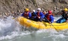 Jasper Rafting Adventures - Jasper Rafting Adventures: 5-Mile Whitewater-Rafting Trip for One, Two, or Four from Jasper Rafting Adventures (Up to 50% Off)
