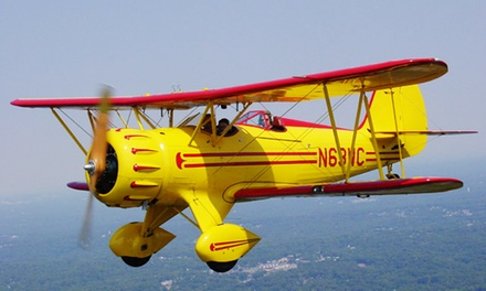 $94 for a 20-Minute Ride Over Lake Allatoona or Red Top Mountain from Biplane Adventures ($175 Value)