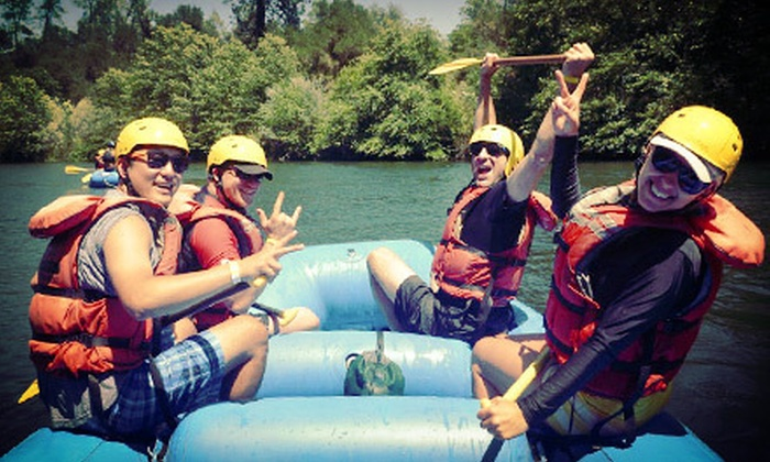Mother Lode River Center - North El Dorado: $135 for a Ropes Course and Rafting Adventure with Lunch from Mother Lode River Center ($228 Value). 10 Dates Available.