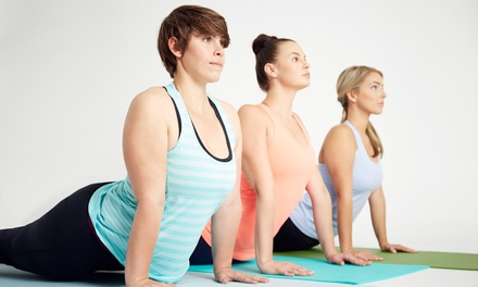 One Month of Unlimited Fitness Classes or 10 Barre Classes at Joyful Yoga Studio (Up to 67% Off)