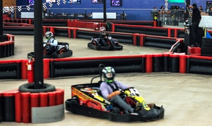 Phoenix Indoor Karting: Go-Kart Packages at Phoenix Indoor Karting (Up to 73% Off). Three Options Available.