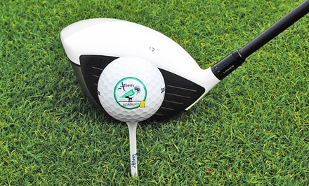Two Large Buckets of  Range Balls or One Private Golf Lesson at Athens Golf Center (Up to 50% Off)