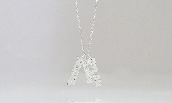 Monogram Hub:  $5 for a Mini Name Necklace with One Name from Monogramhub.com ($69.99 Value)
