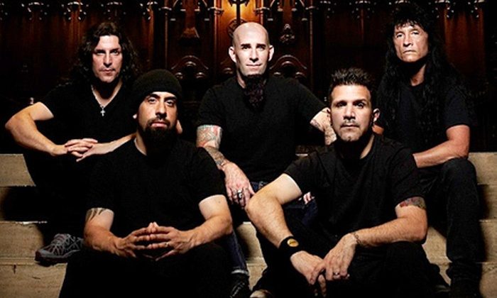 Anthrax and Testament with special guest Death Angel - Downtown Winnipeg: $28 to See Anthrax, Testament, and Death Angel at Burton Cummings Theatre on September 25 at 8 p.m. (Up to $47.75 Value)