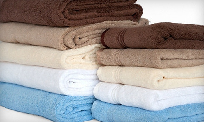 $29 for a Superior 100% Egyptian Cotton Six-Piece Towel Set ($79.99 List Price). Five Colors Available.