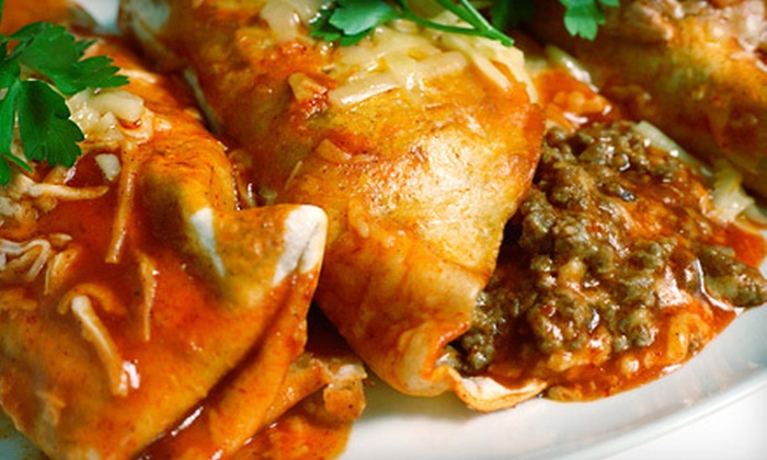 Las Velas Mexican Restaurant - Downtown: Mexican Fare at Las Velas Mexican Restaurant (Half Off). Two Options Available.
