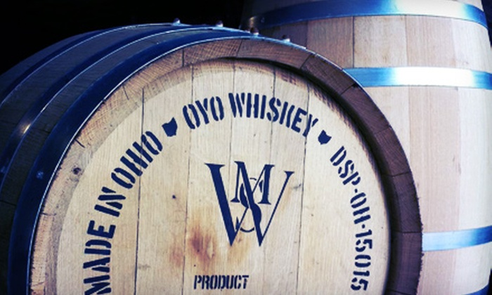 Middle West Spirits - Weinland Park: $20 for a Distillery Tour and Tasting with Vintage T-shirt at Middle West Spirits ($40 Value)