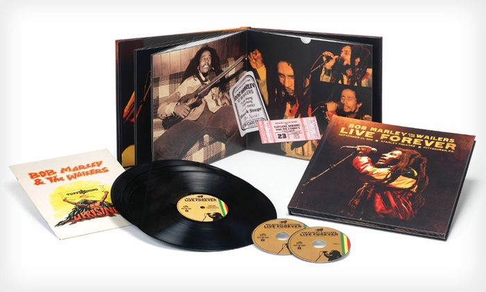 Bob Marley Live Forever Super Deluxe Box Set: $39.99 for Bob Marley and The Wailers Live Forever Super Deluxe Box Set ($79.99 List Price). Free Shipping and Returns.