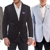 Elie Balleh Milano Italy Men's Slim-Fit Jackets