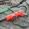 3-in-1 Survival Kit including Flint Fire Starter, Compass & Whistle