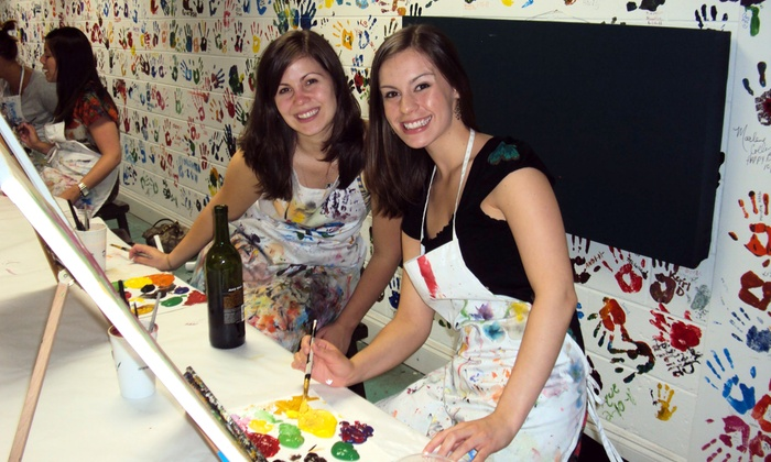 Dip 'n Dab - Virginia Highland: $15 for a Two-Hour BYOB Painting Class at Dip 'n Dab ($30 Value)