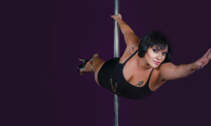 Spinderella Fitness & Nutrition - Gateway Corp Plaza: 10 or 15 Group Pole-Fitness Classes or One Month of Unlimited Classes at Spinderella Fitness (Up to 67% Off)