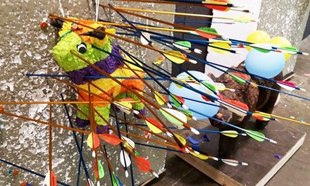 $45 for Indoor Intro-to-Archery Lesson and Year of Access at Texas Archery Academy ($125 Value)