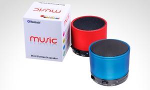 Parlante Metálico Bluetooth