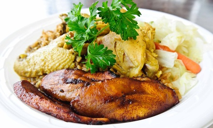Trinidadian Cuisine at Cafe Trinidad (Up to 50% Off). Option to Order Online.