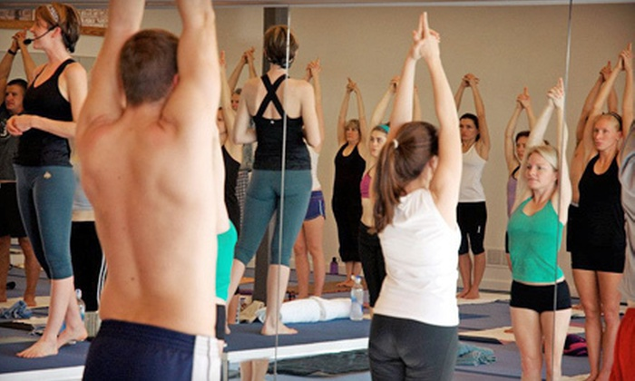 Bikram Yoga Athens - Biram Yoga Athens: 5 or 10 Bikram Yoga Classes at Bikram Yoga Athens (55% Off)