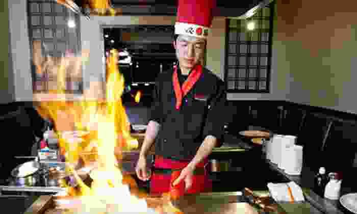 Yokohama Japanese Restaurant - Maple Shade: Hibachi Dinner for Two, Four, or Six at Yokohama Japanese Restaurant (Up to 57% Off)