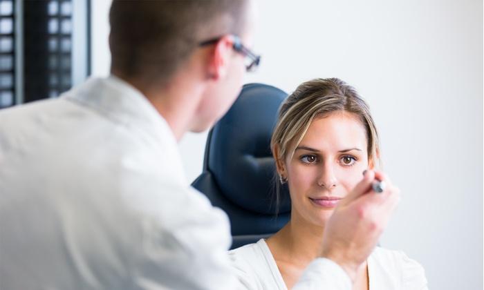 Miopia Laser - Più sedi: Check up oculistico più controllo successivo del tono oculare da 34 € invece di 130