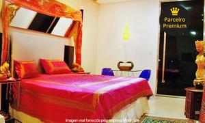 Motel Goa: Motel GOA – Piedade: período de 4 horas na suíte Hare Baba ou Goa