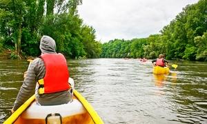 Spływy Wisłokiem: Spływ kajakowy rzeką Wisłok dla 2 osób od 42,99 zł i więcej opcji z firmą Spływy Wisłokiem (do -36%)