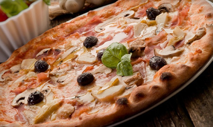 Bellagio Pizzeria - Old Monterey Business District: $10 for $20 Worth of Pizza, Pasta, and Sandwiches at Bellagio Pizzeria