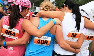Venus de Miles: Entry in All-Women 5K Run/Walk for One or Two from Venus de Miles on Saturday, July 25 (31% Off)